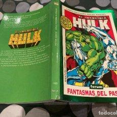 Cómics: LIBRO GRANDES SAGAS MARVEL-EL INCREIBLE HULK 1995 - FANTASMAS DEL PASADO. Lote 232133000