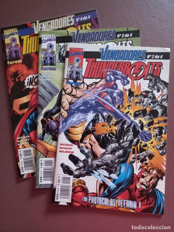 COMIC VENGADORES THUNDERBOLTS 2 AL 4 (Tebeos y Comics - Forum - Vengadores)