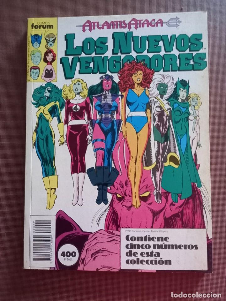 COMIC LOS NUEVOS VENGADORES RETAPADO Nº 36 AL 40 (Tebeos y Comics - Forum - Vengadores)