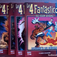 Cómics: COMIC LOS 4 FANTASTICOS DE PLANETA Nº 1 AL 4. Lote 232149370