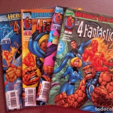 Cómics: COMIC LOS 4 FANTASTICOS HEROES RETURN Nº 1 AL 4. Lote 232150025