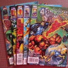 Cómics: COMIC LOS 4 FANTASTICOS Nº 1 AL 5. Lote 232150455