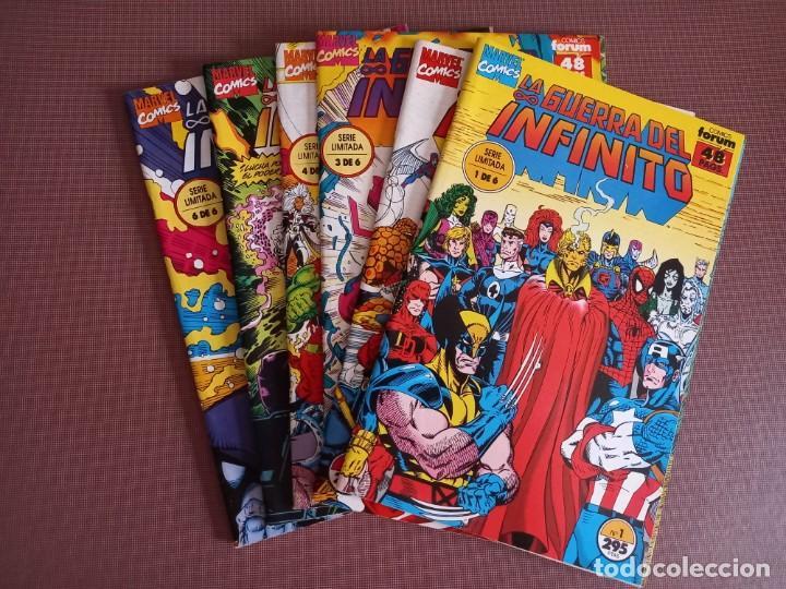 COMIC LA GUERRA DEL INFINITO Nº 1 AL 6 (COMPLETA) (Tebeos y Comics - Forum - Otros Forum)