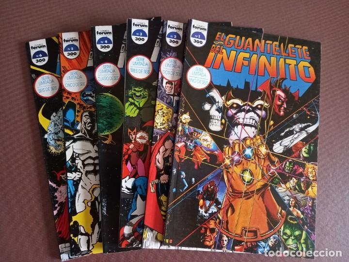 COMIC EL GUANTELETE DEL INFINITO Nº 1 AL 6 (COMPLETA) (Tebeos y Comics - Forum - Otros Forum)