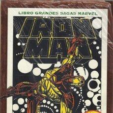 Comics : IRON MAN - MUERTE EN EL CIBERESPACIO - TOMO GRANDES SAGAS - A ESTRENAR !!. Lote 232411591