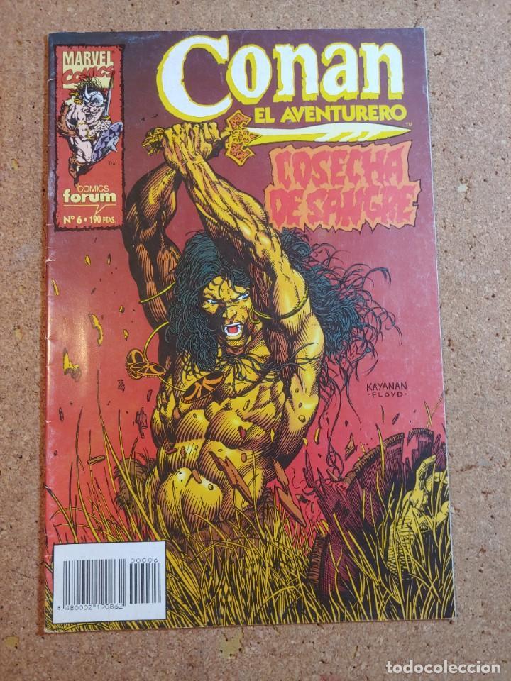 COMC CONAN EL AVENTURERO COMICS FORUM Nº 6 (Tebeos y Comics - Forum - Otros Forum)