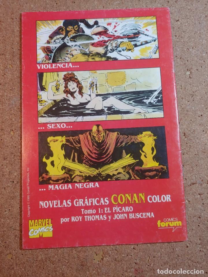 Cómics: COMC CONAN EL AVENTURERO COMICS FORUM Nº 6 - Foto 2 - 232677600