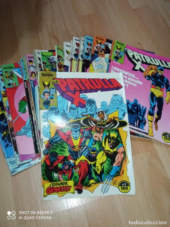 LOTE 'PATRULLA X' FÓRUM 1 EDICIÓN, PRIMEROS NÚMEROS (Tebeos y Comics - Forum - Patrulla X)
