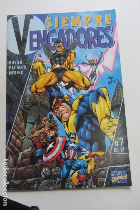 SIEMPRE VENGADORES Nº 7 BUSIEK, PACHECO, MERINO MUCHOS EN VENTA PIDE FALTAS AX42 (Tebeos y Comics - Forum - Vengadores)