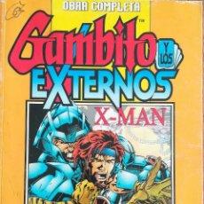 Cómics: GAMBITO Y LOS EXTERNOS X-MAN. Lote 232854435