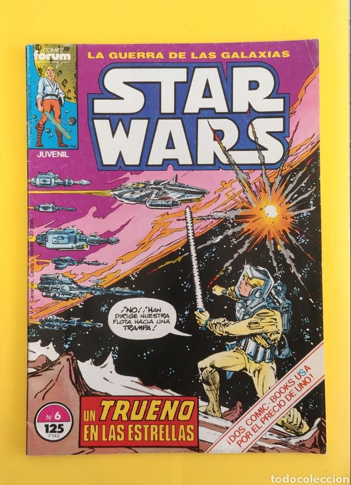 STAR WARS. LA GUERRA DE LAS GALAXIAS .NÚMERO 6 UN TRUENO EN LAS ESTRELLAS (Tebeos y Comics - Forum - Otros Forum)