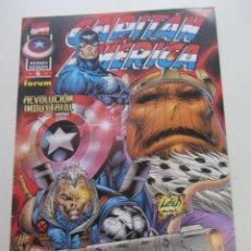Comics: CAPITAN AMERICA HEROES REBORN Nº 6 FORUM BUEN ESTADO MUCHOS EN VENTA PIDE FALTAS AX43. Lote 232973140