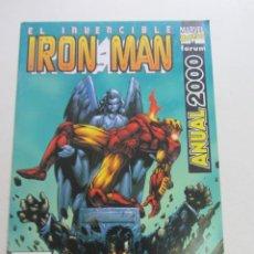 Comics: EL INVENCIBLE IRON MAN ANUAL 2000 FORUM BUEN ESTADO MUCHOS EN VENTA PIDE FALTAS AX43. Lote 232995995