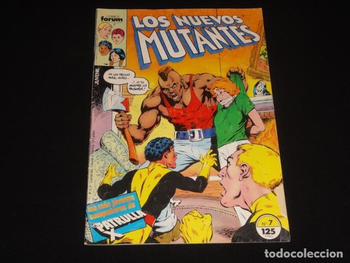 LOS NUEVOS MUTANTES Nº 7. 1986. VOLUMEN 1. EDITORIAL FORUM. C-73 (Tebeos y Comics - Forum - Nuevos Mutantes)
