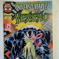 Fumetti: UNIVERSO MARVEL PRESENTA A VENENO. Lote 233154610