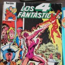 Cómics: LOS 4 FANTASTICOS - RETAPADO CON LOS NUMEROS 11 12 13 14 15 - VOLUMEN 1 - FORUM. Lote 233204655