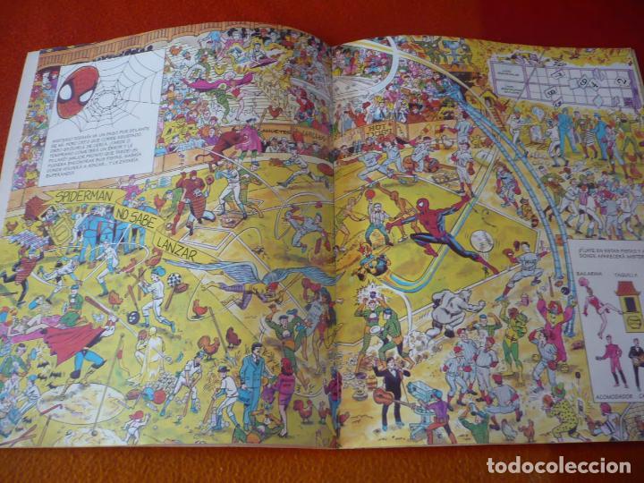 Cómics: BUSCANDO A SPIDERMAN ¡BUEN ESTADO! MARVEL FORUM ALBUM TAMAÑO GRANDE DONDE ESTA WALLY - Foto 2 - 233205035