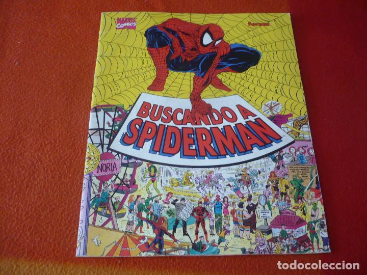 BUSCANDO A SPIDERMAN ¡BUEN ESTADO! MARVEL FORUM ALBUM TAMAÑO GRANDE DONDE ESTA WALLY (Tebeos y Comics - Forum - Spiderman)