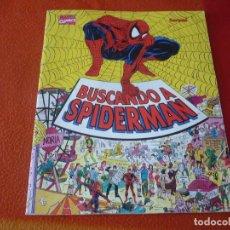 Cómics: BUSCANDO A SPIDERMAN ¡BUEN ESTADO! MARVEL FORUM ALBUM TAMAÑO GRANDE DONDE ESTA WALLY. Lote 233205035