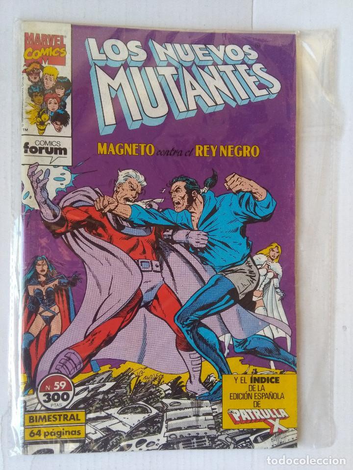 LOS NUEVOS MUTANTES 59-FORUM (Tebeos y Comics - Forum - Nuevos Mutantes)