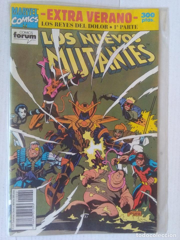 LOS NUEVOS MUTANTES EXTRA VERANO 1992-FORUM (Tebeos y Comics - Forum - Nuevos Mutantes)