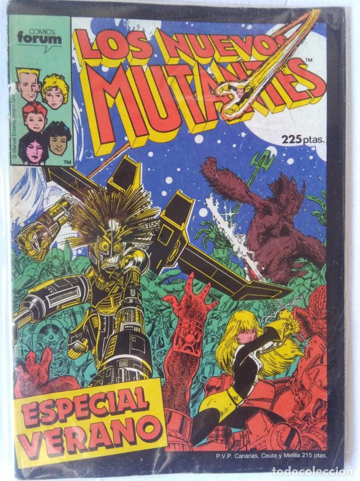 LOS NUEVOS MUTANTES ESPECIAL VERANO 1987-FORUM (Tebeos y Comics - Forum - Nuevos Mutantes)