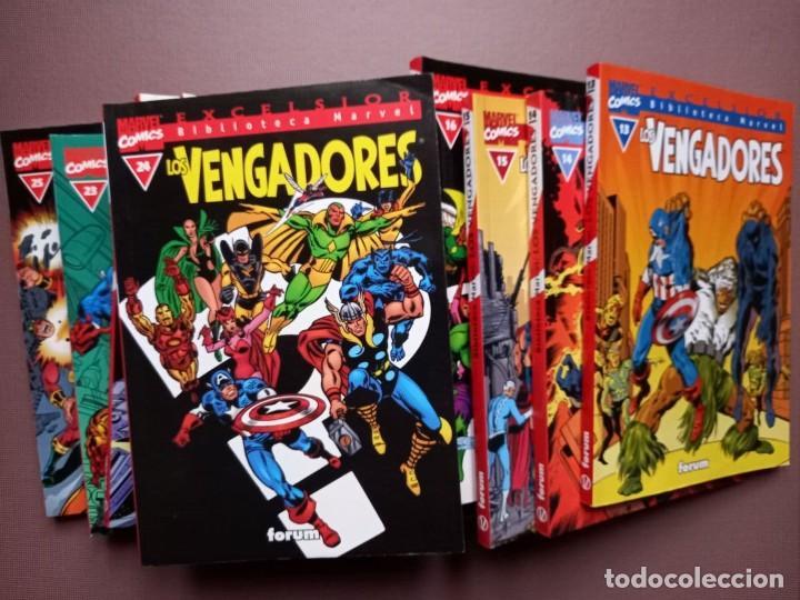COMIC BIBLIOTECA MARVEL LOS VENGADORES 13 AL 25 (Tebeos y Comics - Forum - Vengadores)