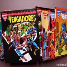 Cómics: COMIC BIBLIOTECA MARVEL LOS VENGADORES 13 AL 25. Lote 233354435