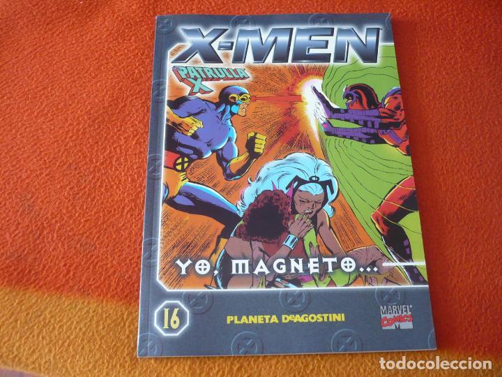 LA PATRULLA X COLECCIONABLE Nº 16 YO MAGNETO ( CLAREMONT ) ¡BUEN ESTADO! MARVEL FORUM X MEN (Tebeos y Comics - Forum - Patrulla X)