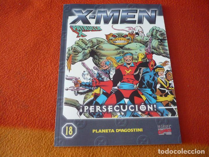 LA PATRULLA X COLECCIONABLE Nº 18 PERSECUCION ( CLAREMONT ) ¡BUEN ESTADO! MARVEL FORUM X MEN (Tebeos y Comics - Forum - Patrulla X)