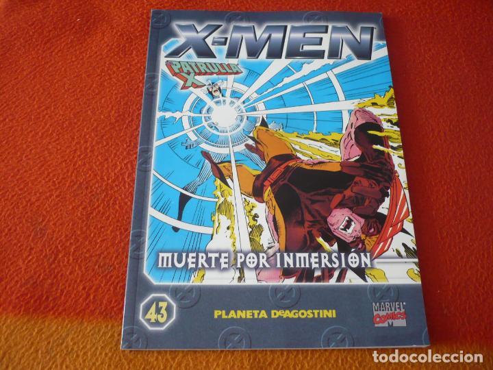 LA PATRULLA X COLECCIONABLE Nº 43 MUERTE POR INMERSION ¡BUEN ESTADO! MARVEL FORUM X MEN (Tebeos y Comics - Forum - Patrulla X)