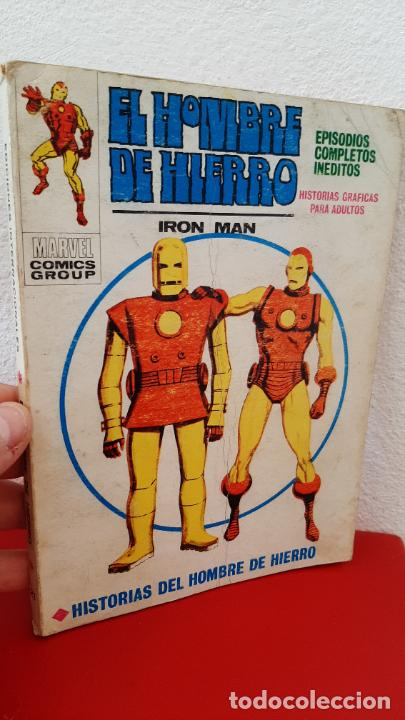 COMIC TACO VERTICE MARVEL COMICS COMIC EL HOMBRE DE HIERRO IRON MAN 1969 HISTORIAS Nº 21 (Tebeos y Comics - Forum - Iron Man)