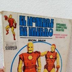 Cómics: COMIC TACO VERTICE MARVEL COMICS COMIC EL HOMBRE DE HIERRO IRON MAN 1969 HISTORIAS Nº 21. Lote 233451985