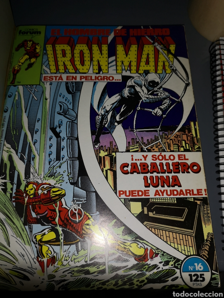 Cómics: AD4. COMIC IRON MAN EL HOMBRE DE HIERRO NUMERO 16 - Foto 3 - 233493245