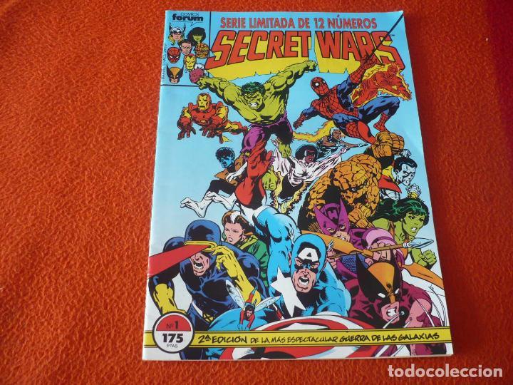 SECRET WARS VOL. 1 Nº 1 2ª EDICION ( MIKE ZECK ) ¡MUY BUEN ESTADO! MARVEL FORUM (Tebeos y Comics - Forum - Otros Forum)