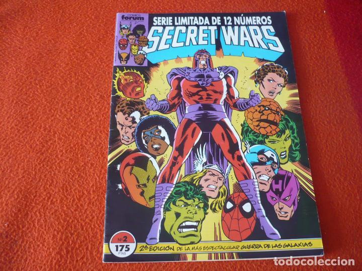 SECRET WARS VOL. 1 Nº 2 2ª EDICION ( MIKE ZECK ) ¡MUY BUEN ESTADO! MARVEL FORUM SEGUNDA (Tebeos y Comics - Forum - Otros Forum)