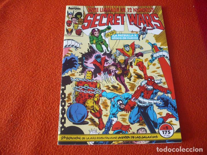 SECRET WARS Nº 5 2ª EDICION ( SHOOTER ZECK ) ¡MUY BUEN ESTADO! MARVEL FORUM SEGUNDA (Tebeos y Comics - Forum - Otros Forum)