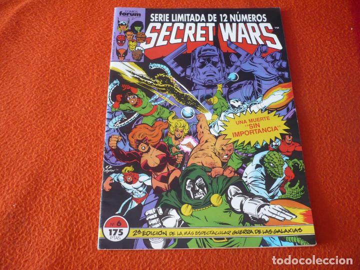 SECRET WARS Nº 6 2ª EDICION ( SHOOTER ZECK ) ¡MUY BUEN ESTADO! MARVEL FORUM SEGUNDA (Tebeos y Comics - Forum - Otros Forum)