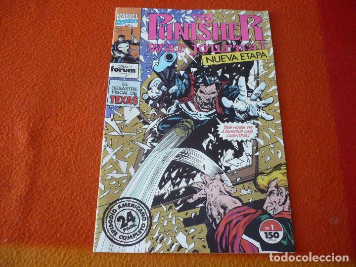 THE PUNISHER WAR JOURNAL Nº 1 ( MIKE BARON ) ¡MUY BUEN ESTADO! MARVEL FORUM EL CASTIGADOR (Tebeos y Comics - Forum - Otros Forum)