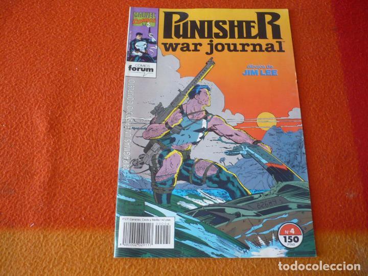 THE PUNISHER WAR JOURNAL Nº 4 ( BARON JIM LEE ) ¡MUY BUEN ESTADO! MARVEL FORUM EL CASTIGADOR (Tebeos y Comics - Forum - Otros Forum)