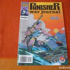 Cómics: THE PUNISHER WAR JOURNAL Nº 4 ( BARON JIM LEE ) ¡MUY BUEN ESTADO! MARVEL FORUM EL CASTIGADOR. Lote 233643080