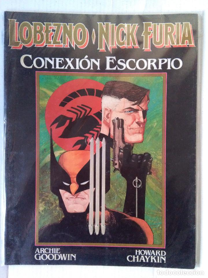 LOBEZNO NICK FURIA-CONEXION ESCORPIO (Tebeos y Comics - Forum - Prestiges y Tomos)