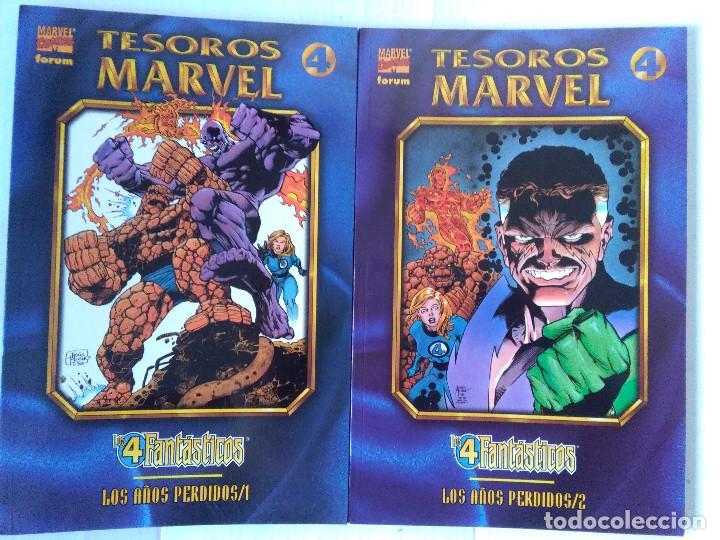 TESOROS MARVEL LOS 4 FANTASTICOS-LOS AÑOS PERDIDOS COMPLETA (Tebeos y Comics - Forum - Prestiges y Tomos)