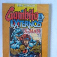 Cómics: OBRA COMPLETA GAMBITO Y LOS EXTERNOS/X-MAN EN UN TOMO. Lote 233707440