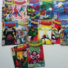 Cómics: SPIDERMAN DE FORUM, NºS 4 A 14, 16 Y 17. SEGUNDA EDICIÓN. MUY BUEN ESTADO.. Lote 233724900