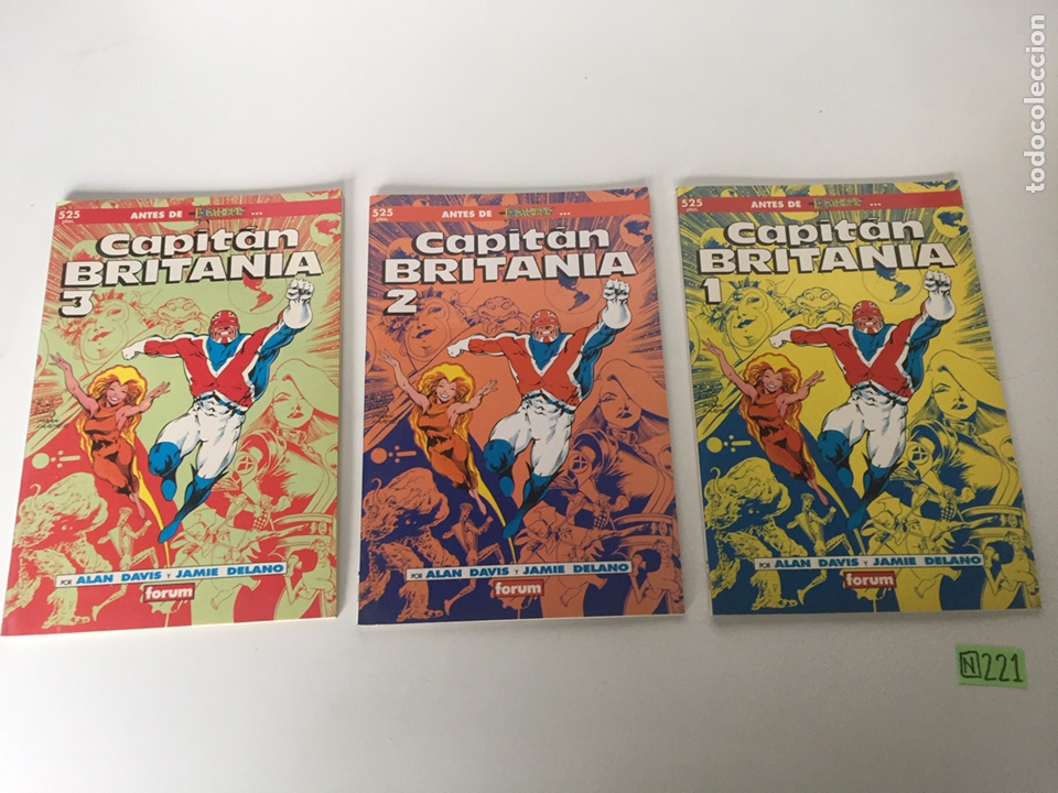 CAPITÁN BRITANIA 3 NÚMEROS (Tebeos y Comics - Forum - Otros Forum)