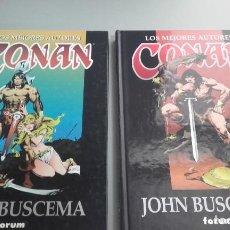Cómics: X LOS MEJORES AUTORES DE CONAN. JOHN BUSCEMA 1 Y 2 (FORUM). Lote 233855885