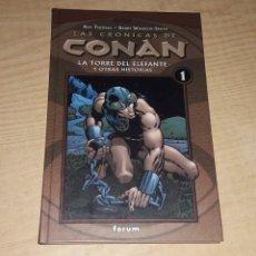 Cómics: LAS CRONICAS DE CONAN. TOMO 1.. Lote 233922730