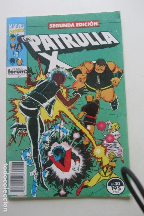 LA PATRULLA X Nº 30 2ª EDICIÓN FORUM MUCHOS EN VENTA PIDE FALTAS ARX46 (Tebeos y Comics - Forum - Patrulla X)