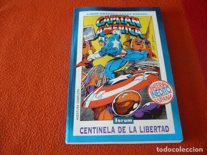 CAPITAN AMERICA CENTINELA DE LA LIBERTAD ( GRUENWALD ) FORUM LIBRO GRANDES SAGAS MARVEL 2 (Tebeos y Comics - Forum - Capitán América)